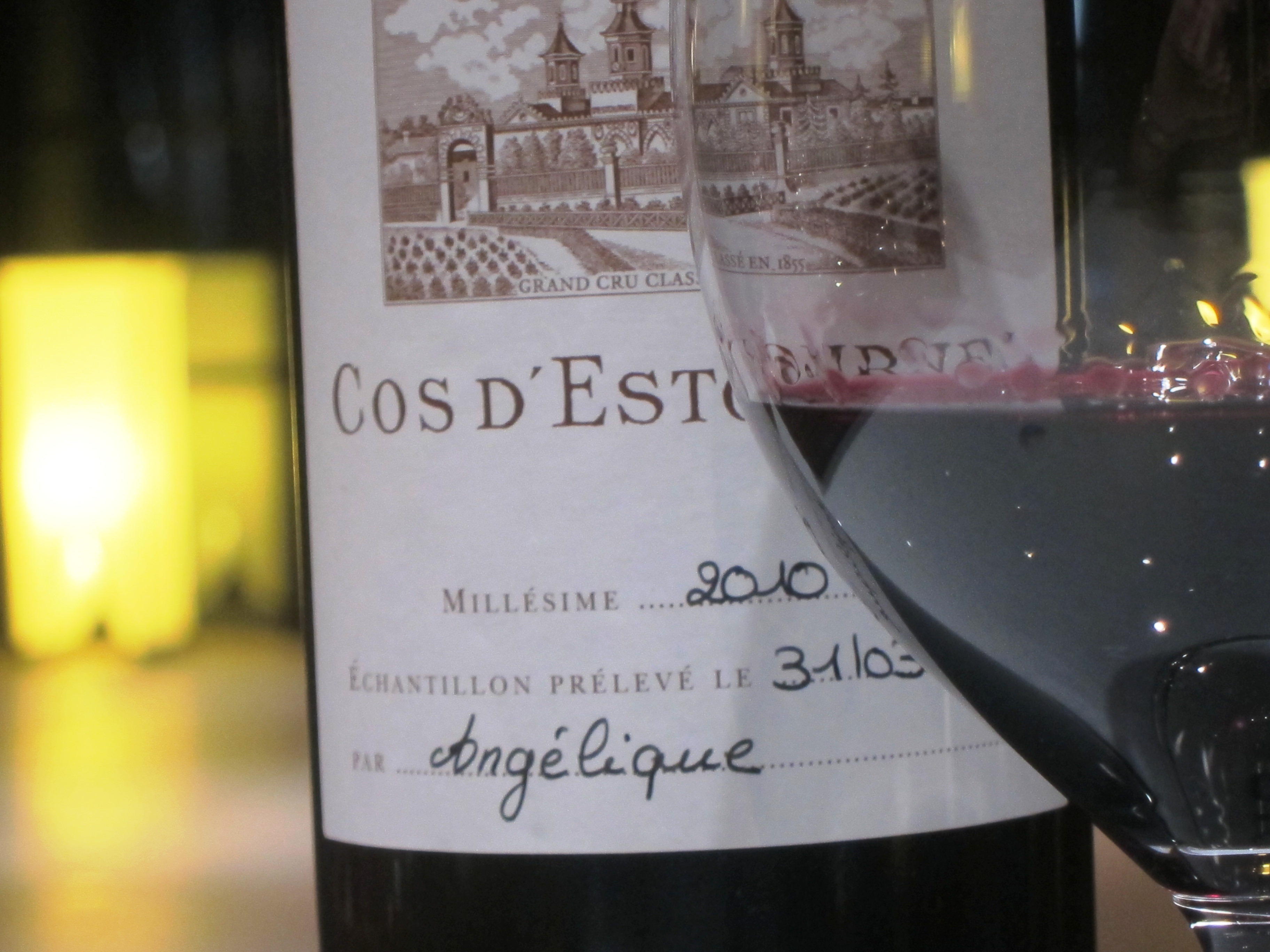 2010 Bordeaux St. Estephe wine