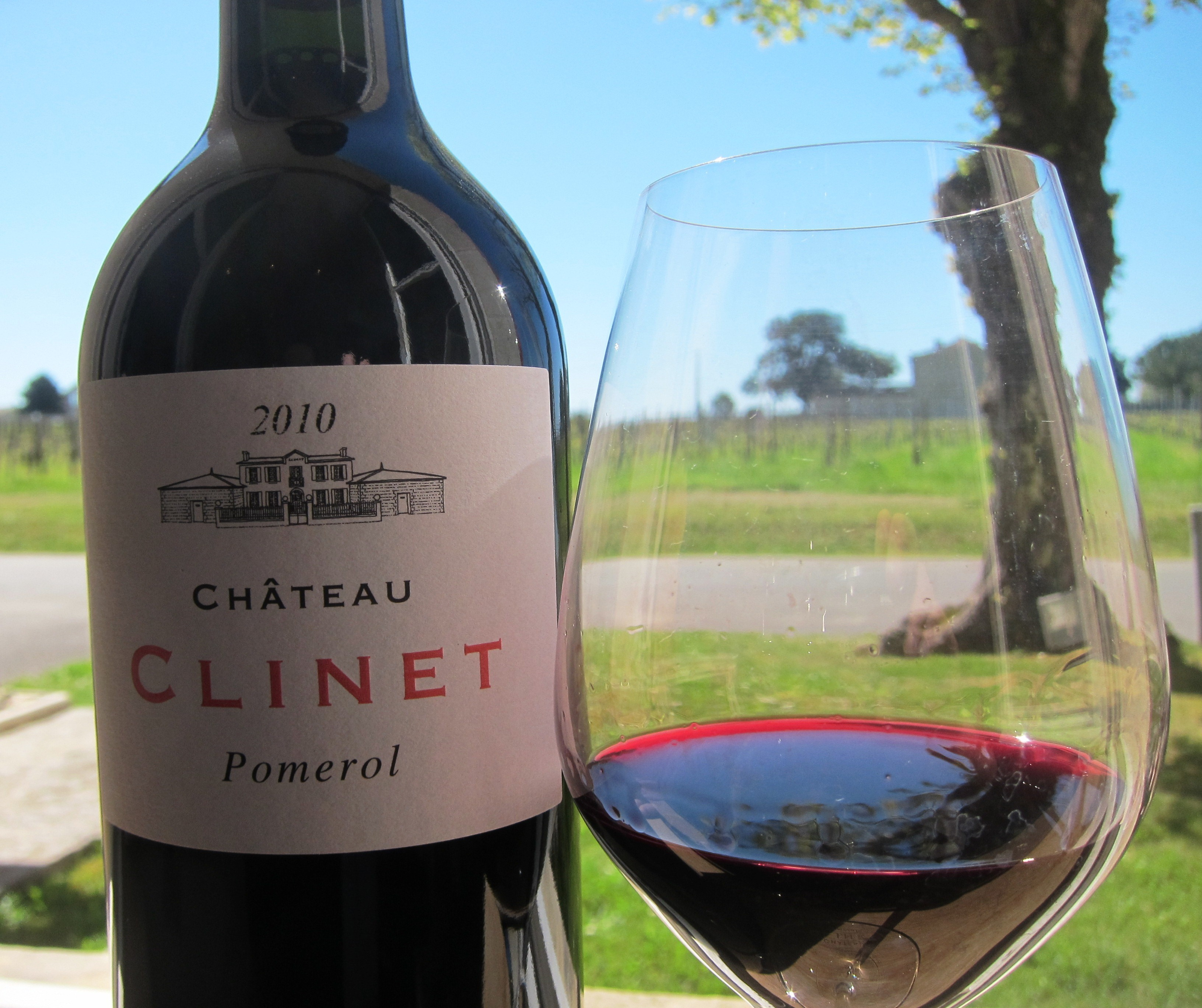 2010 clinet pomerol bordeaux